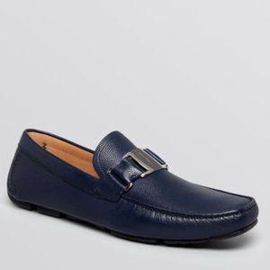 Salvatore Ferragamo Sardegna Buckle Drivers Shoes